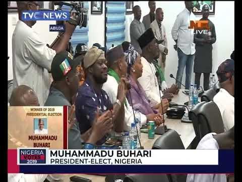 #NigeriaVotes: President Muhammadu Buhari's acceptance speech