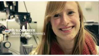 new technology iris slootheer young student in applied physics science it s a girl thing