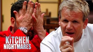 Gordon Shows Staff How Much Food They're Wasting | Kitchen Nightmares