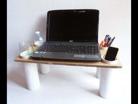 Столик для ноутбука своими руками. Часть 3 - YouTube