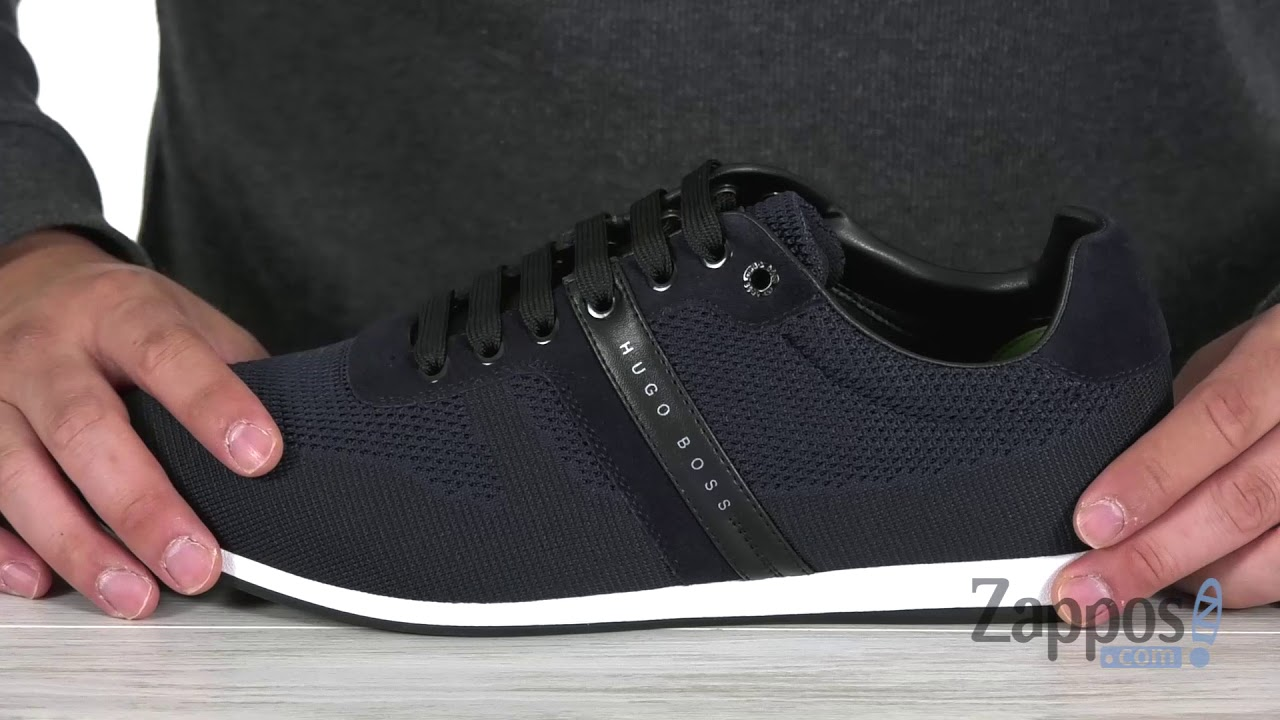 hugo boss trainer laces