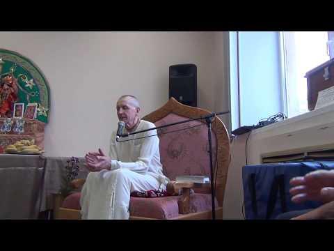 Бхагавад Гита 9.34 - Ачарьяратна прабху