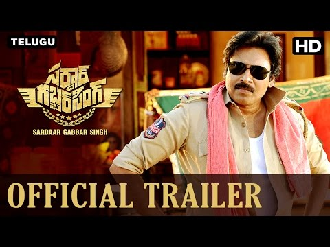 Sardaar Gabbar Singh Official Telugu Trailer | Pawan Kalyan, Kajal Aggarwal | K S Ravindra