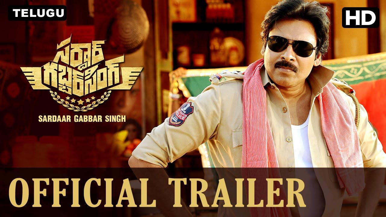 Sardaar Gabbar Singh Official Telugu Trailer Pawan Kalyan Kajal
