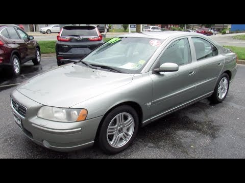 2006 Volvo S60 2.5T Walkaround, Start up, Tour and Overview