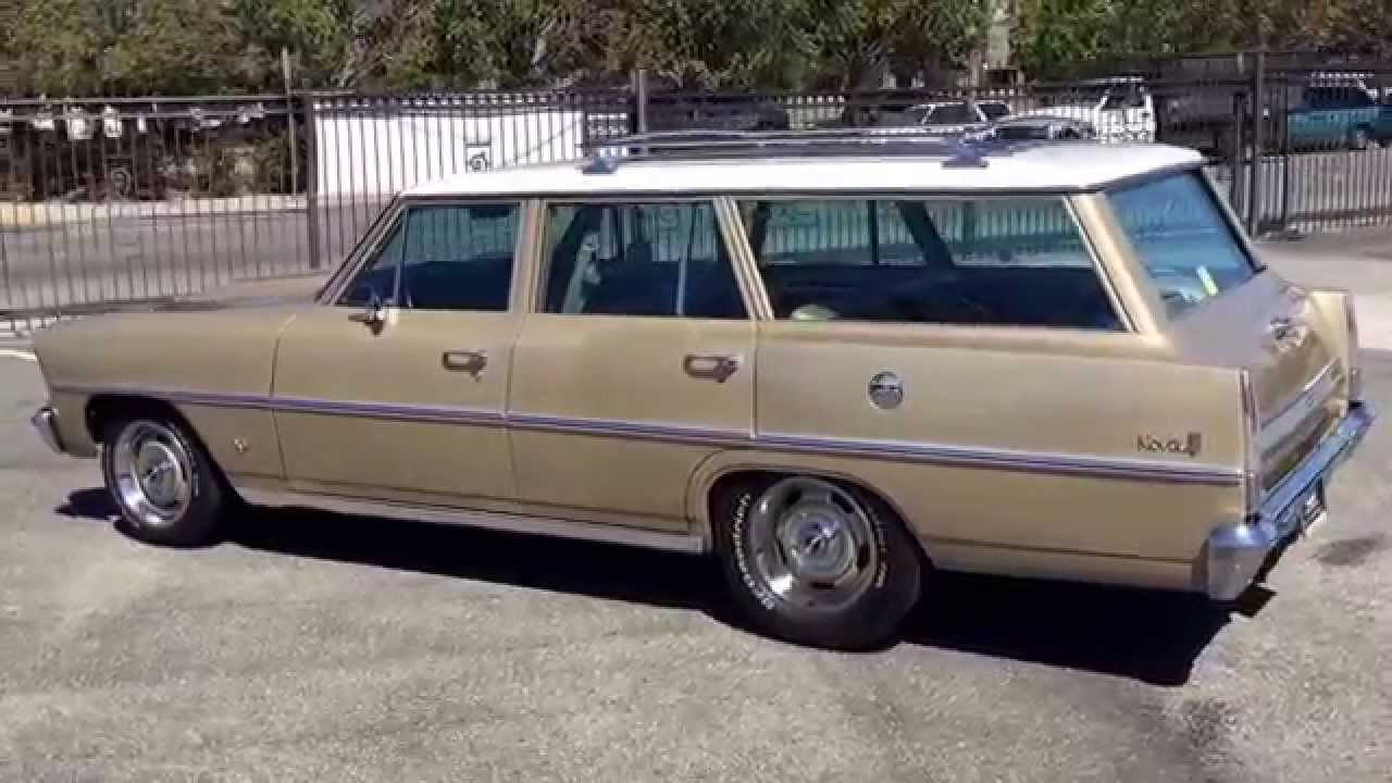 R12135 1967 Chevrolet Nova Wagon - YouTube