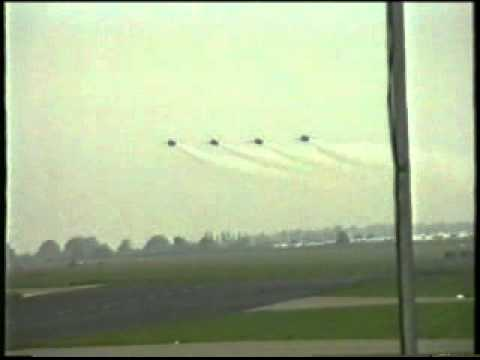 RAF Finningley Airshow 1992 US Navy Blue Angels Display Team