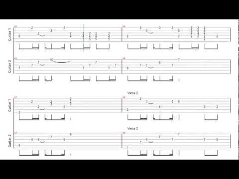 Guitar guitar tablature hotel california : Hotel California (Acoustic) Tab - YouTube