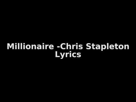 Chris Stapleton - Millionaire ( Lyrics)