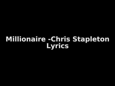 Chris Stapleton - Millionaire ( Lyrics) Mp3