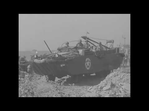 Raw Footage of Allied Invasion of Southern France (August 15, 1944) WWII