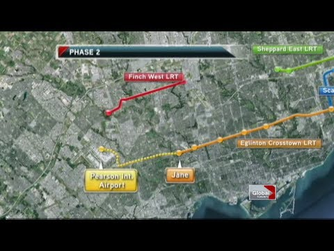 TTC To Operate Four New LRT Lines In Toronto