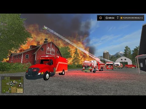 FS17 | Fire Department Responds To tractor Fire With