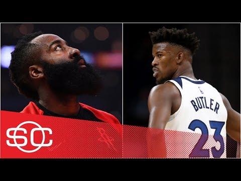 Woj: Rockets offering 4 first-round draft picks for Jimmy Butler trade | SportsCenter