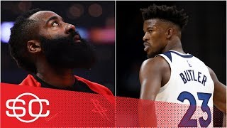 Woj: Rockets offering 4 first-round draft picks for Jimmy Butler trade | SportsCenter
