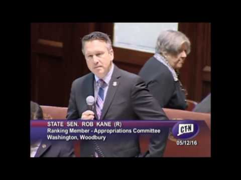 Senator Kane comments on the State Budget Bill 5 12 16