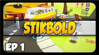 STIKBOLD ➤ A Dodgeball Adventure! [Let
