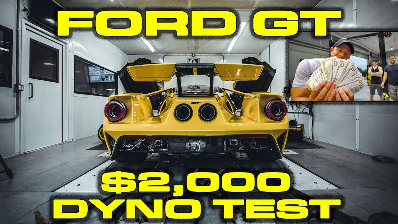 Ford Gt Dyno Results With  In Cash On The Line