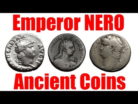 NERO Guide to Ancient Coins of the Infamous Roman Emperor circa 54 68AD Books for Sale eBay