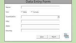 How to make Macro enabled Form in Excel Sheet?