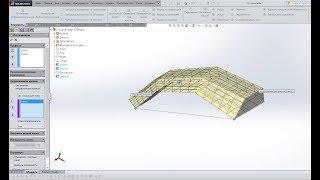 🔵 Урок SolidWorks №13. Элемент по сечениям и траектории