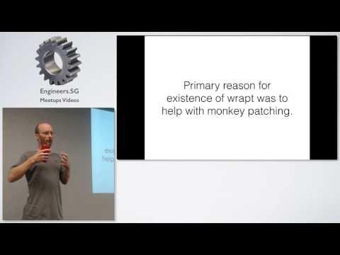 Hear no evil, see no evil, patch no evil - Singapore Python User Group