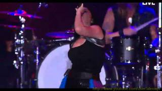 Evanescence - weight of the world - Rock in Rio 2011 - 720P