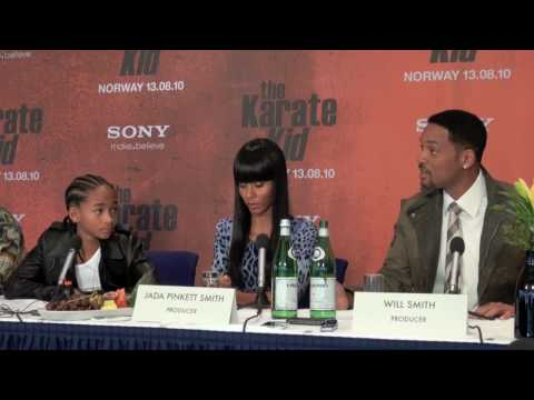 The Karate Kid (2010) - Press Conference In Norway - PART FOUR