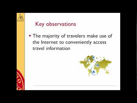 Social Media, Travel and Search- MSc thesis of Alexandros Papageorgiou on Travel Social Media