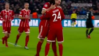 Bayern Munich vs PSG 3 1 All Goals and Highlights with English Commentary UCL 2017 18 HD