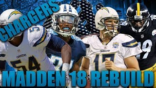 38-0? The Best Team Ever Built! Rebuilding the LA Chargers! | Madden 18 Franchise!