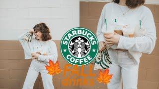 Trying NEW Fall Starbucks Stuff :)