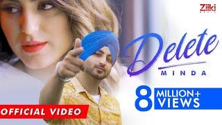 DELETE (Official Video) | Minda | Cheetah | Teji  sandhu| New Punjabi Song 2020 | Udaar| #ZiikiMedia