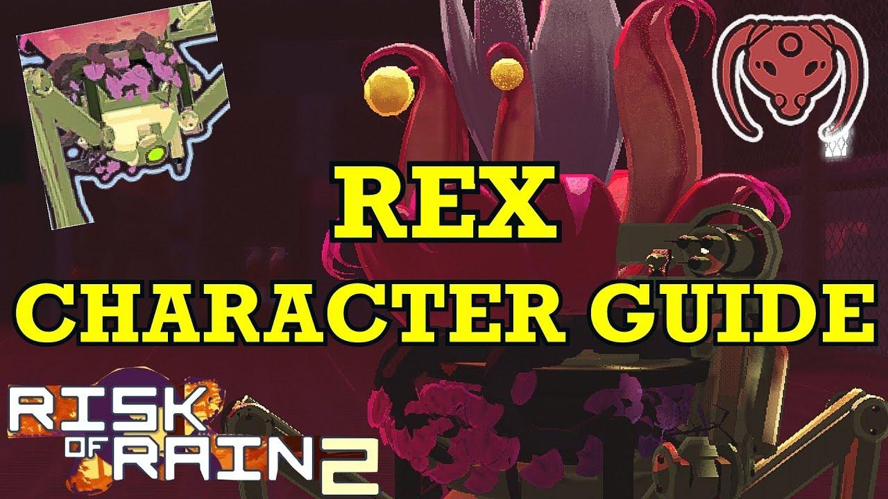 Rex Character Guide Risk Of Rain 2 Youtube Rex is a playable character in risk of rain 2. rex character guide risk of rain 2