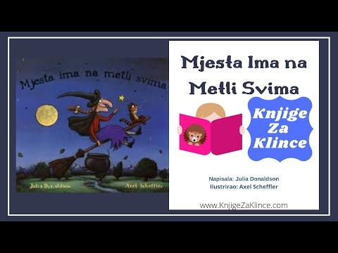 Mjesta na Metli  - Julia Donaldson - Audio Knjige, Slikovnice, Basne, i Bajke i PRIČE