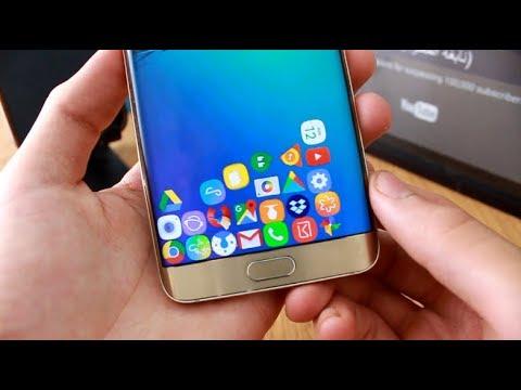 إجعل التطبيقات تتساقط في هاتفك حسب الجادبية !