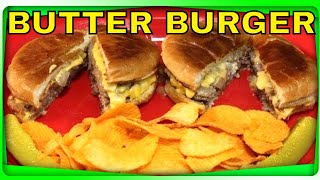 Butter Burger! (Solly's Grille Milwaukee Wisconsin)