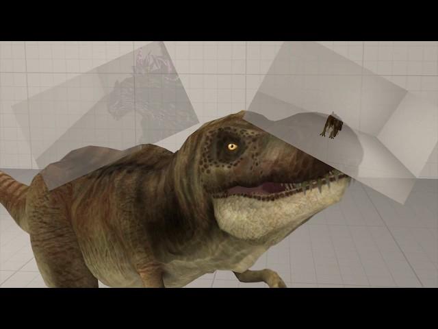 [SFM]T-Rex and Godzilla 2014?