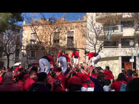 Castelleres de Barcelona: primer 7 de 7 femení de la història