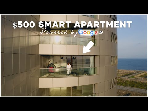 Living in the Smartest Airbnb apartment in Lagos powered by Google 5G