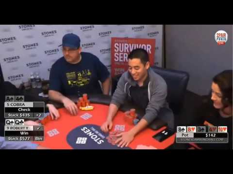 Full Length: Live poker training of a $1-$3NL Deep Stacked Game