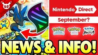 MEGA EVOLUTION and POSSIBLE NINTENDO DIRECT?! Shiny Celebi and More Pokemon News!