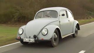 Unterwegs im ältesten zugelassenen VW Käfer der Welt