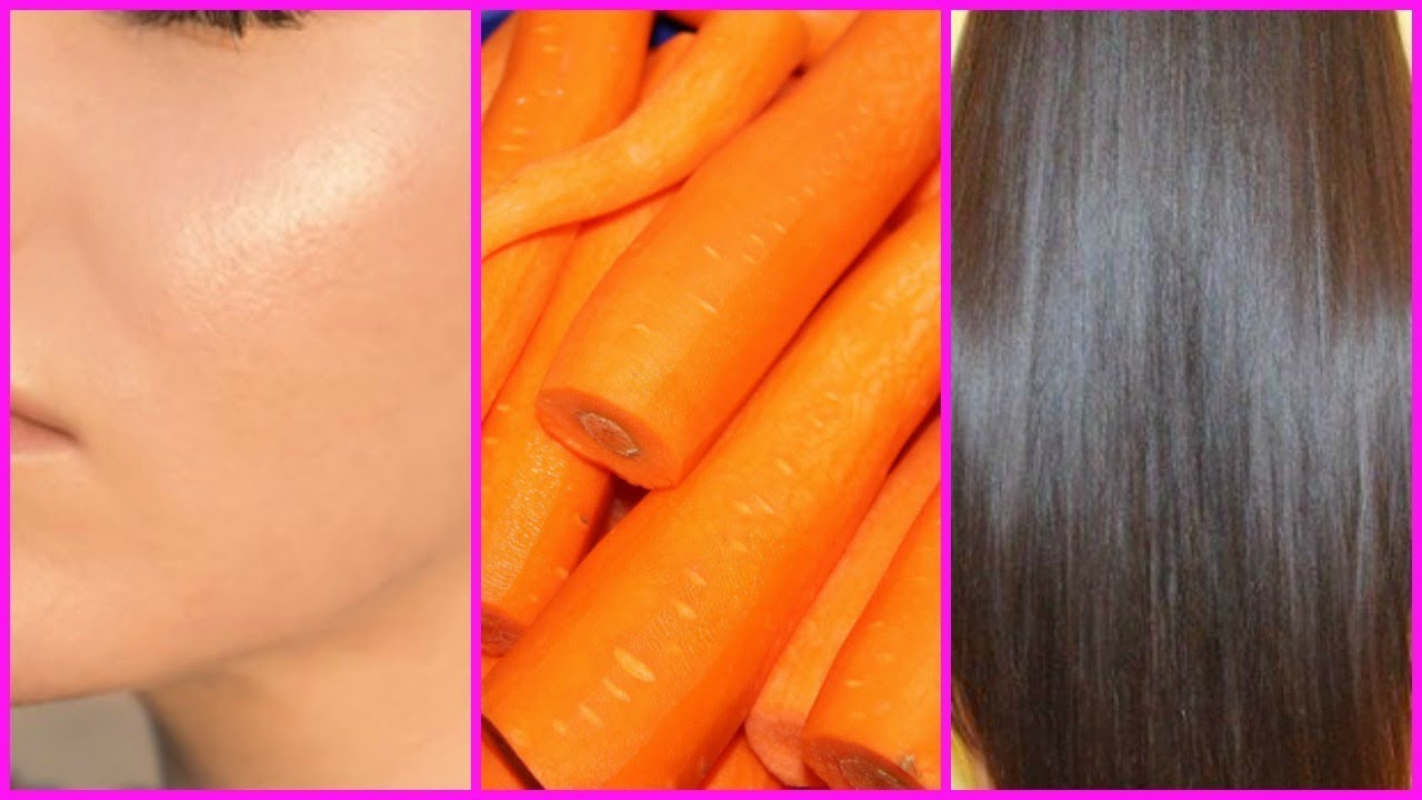 10 CARROT OIL BENEFITS FOR FOR SKIN & HAIR GROWTH│SMOOTH GLOWING SKIN, &  SOFT SHINY HAIR!