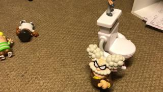 Captain Underpants movie with toys part 9, movie ending
