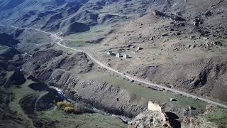 Безенги крепость Жабо-Кала в 4к видео