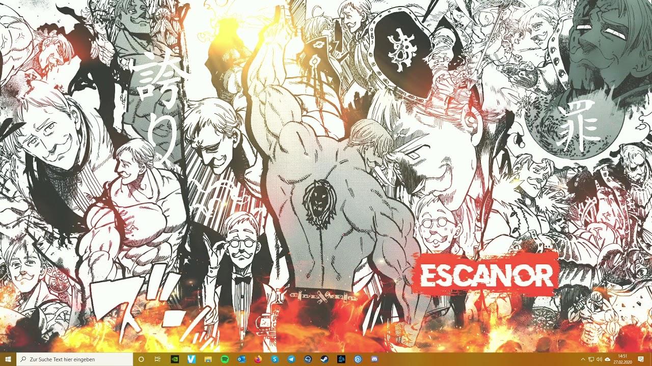 Escanor With Sound Nanatsu No Taizai Wallpaper Youtube