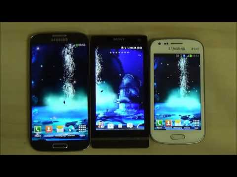 Night 3D Waterfall Android Live Wallpaper