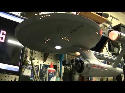 Star Trek 1:350 Scale U.S.S Enterprise Model Available For Collectors
