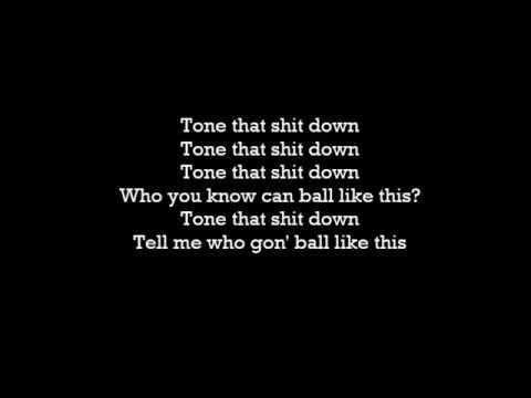 Gucci Mane - Tone It Down Feat. Chris Brown (Lyrics)